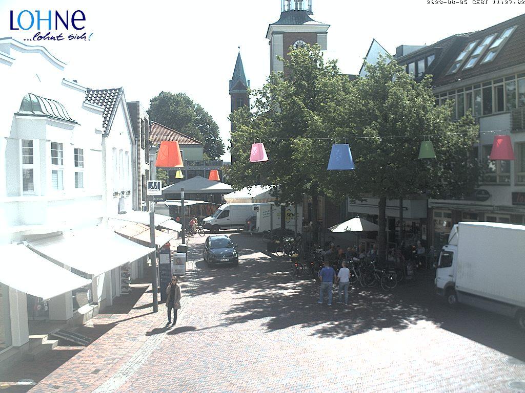 Livebild aus der Fußgängerzone